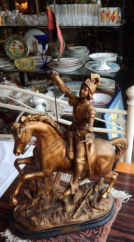 Vendu - Régule Jeanne d'Arc