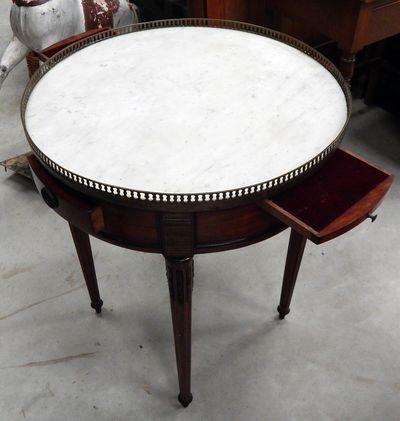 Vendue - Table bouillotte époque XVIII